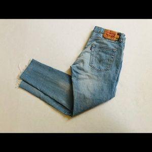 Light Wash 501 Levis Jeans